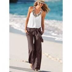 Linen pants http://pinterest.com/treypeezy http://twitter.com/TreyPeezy http://instagram.com/OceanviewBLVD http://OceanviewBLVD.com
