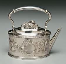 Tiffany coin silver teapot