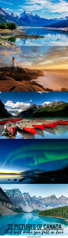 If you didn't already know, Canada has recently been voted Lonely Planet's top travel destination for See why. O Canada, Canada Travel, Top Travel Destinations, Travel Tips, Great Vacation Spots, What A Wonderful World, S Pic, Wonders Of The World, Backpacking