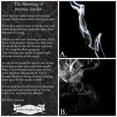 Incense smoke explained
