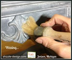 white wax painted furniture shizzle design grand rapids michigan best paint class workshops experienced chalk paint tips