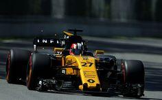 壁紙をダウンロードする ニコHulkenberg, 式1, ルノー RS17, レーシングカー, F1, ルノー
