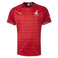 Ghana World Cup 2014 Kits Away