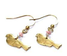 Earrings - Birds - by Petra Reijrink
