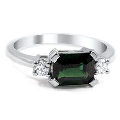 14K White Gold The Zahari Ring from Brilliant Earth