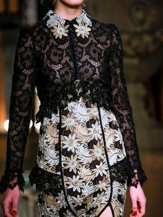 whore-for-couture:  detailingthedetails:    Erdem fall/winter...