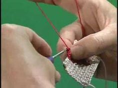 ▶ Flat Tapestry Crochet - YouTube