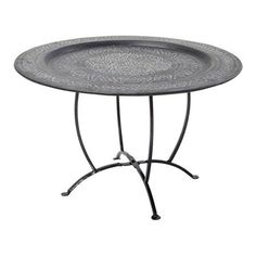 Oasis Deco Tray Table, Black