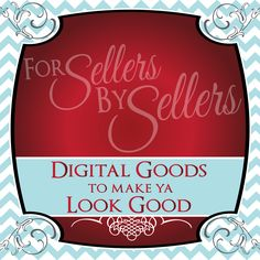 Digital Goods to make ya Look Good! ** Clip Art, Backgrounds, Borders & more **