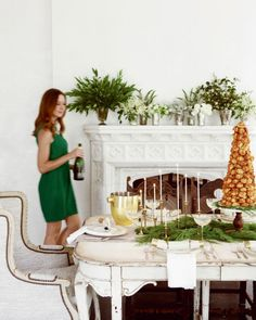 Setting A Winter Table With Camille Styles   theglitterguide.com