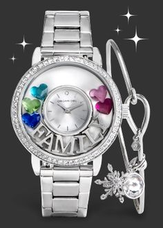 Share your family's story, with Swarovski birthstones in a new Locket Watch. https://kimzoo.origamiowl.com/