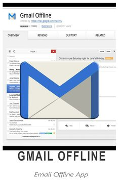 Gmail Offline - built to support offline access, allowing mail to be read, responded to, searched and archived without network access Great Apps, Virtual Assistant, Letters, Tools, Learning, Instruments, Studying, Letter, Teaching