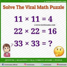 Solve The Viral Math Puzzle | Confusing Brainteaser | Test 4 Exams Number Puzzles, Maths Puzzles, Aptitude And Reasoning, Logic Math, Play Quiz, Riddles With Answers, Online Tests, Brain Games, Problem Solving Skills