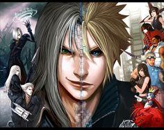 Final Fantasy VII - Sephiroth x Cloud Strife - Clephiroth
