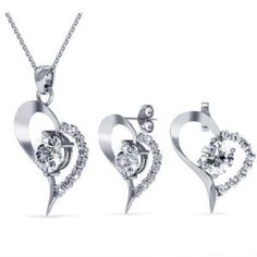 41eb0d139 Destiny Jewellery Embellished with crystals from S jewelry sets heart sets  pulseira infantil