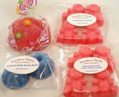 Rainbow Melts wax melts