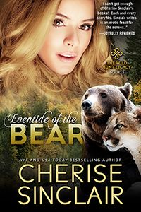 New @CheriseSinclair #ebook Cover Reveal: Eventide of the Bear #paranormal #menage #romance