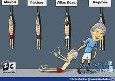 Zezo Cartoon : Pellegrini and his victims Football Troll, Football Soccer, Cartoons, Display, Memes, Fun, Movie Posters, Image, Football Drawings
