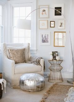"""One is silver and the other's gold…or is it rose gold now? Incorporating metallics into your decor is a great way to elevate your space, but the temptation to replace all of your fixtures every time a new finish """"reigns supreme"""" is hard to avoid. Here are some shining (shimmering, splendid) examples of spaces that masterfully mix metals to help yours stand the test of time."""