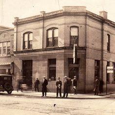 The corner of Simcoe and Bond c. Durham, Bond, Louvre, Corner, Museum, Community, History, City, Building