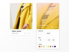 UI - eCommerce - Shopify Theme (WIP) by limonija #web #ui #minimal #inspire #theme #shopify #ecommerce #store #fashion