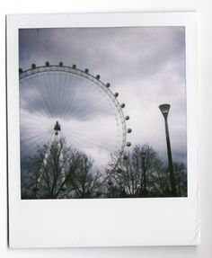 I took for my final year project at London. #polaroid