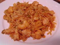Chicken Curry  Gemüse  Reispfanne