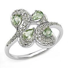 light green sapphires