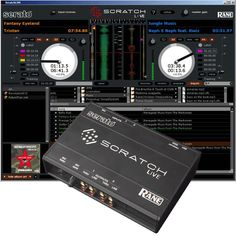 "serato scratch live, represents the modernity of the ""performance"" in nightlife"