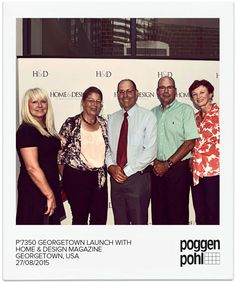 Poggenpohl Georgetown -        P´7350 launch with Home & Design Magazine