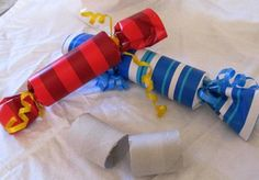 New Year's Poppers.  Fun to make and fun for the night of!  #newyears #holidays