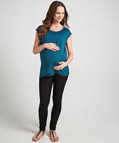 Black Maternity Jeggings