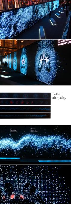 Jane Ro - Amazing, interactive digital signage art. Would love to see this enter www.doohdas.com #infografias #infographic