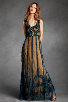 Indigo Mist Dress by BHLDN