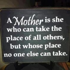mother..
