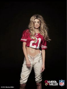 Marisa Miller - NFL SuperFan.