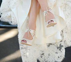 Zapatos de novias reales #boda #zapatos