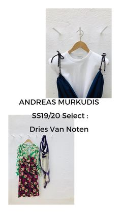 ANDREAS MURKUDIS: Dries Van Noten Womenswear SS19. #andreasmurkudis #andreasmurkudis81 #womenswear #driesvannoten The Selection, Women Wear, Van, Digital, Vans
