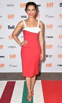 Gugu Mbatha-Raw in Gabriela Hearst