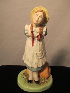 Pollyanna Royal Doulton Figurine.  HN 2965 signed by MyRedFlamingo, $38.00