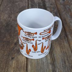 The Horn Section Mug from https://www.guitargeekery.co.uk/ I'm all about guitars most of the time, but I do know there's other instruments! This horn section mug, features trumpets and saxophones, and trombones and some of their outstanding players from across musical genres. It includes Sonny Rollins and Annie Whitehead from the world of jazz, but also Alison Balsom from classical music, and Ska musician Don Drummond. I love them all! Makes a great gift for musicians and music lovers.