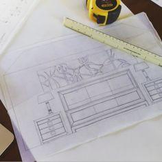 Sometimes you just need to sketch it out.   #design #bedroom #ellascottdesign #interiors #interiordesign #sketch #drawing #designplan #rendering #style #remodel #instagood #instadrawing #instadecor #dcdesign #bethesdamd #bethesda #masterbedroom #dcdesigner