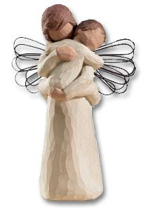 Embrace Willow Tree Angel  .. as a symbol that our baby is being taken care of.