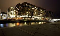 The Aker Brygge area Oslo...