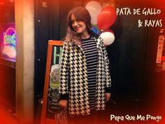 Pepa! ¿qué me pongo?: MAJO. PATA DE GALLO & RAYAS.
