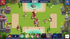 Siege Raid is a Android Free 2 Play, real-time Tower Defence Strategy RTS, Multiplayer Game featuring various tribe cards and in-depth strategy