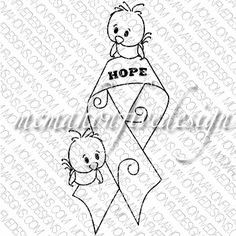 Cute Breast Cancer Birds of Hope *FREEBIE and many other freebies.