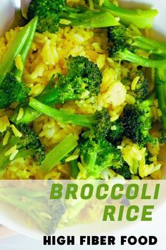 Add healthy vegetables to your diet, and save time by adding broccoli to your rice and making broccoli rice.
