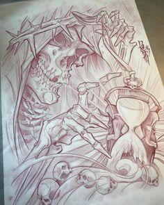 stunning eye-catching tattoo sketches design ideas Wagepon Ideas – Vo … - Gave Ideer Tattoo Design Drawings, Skull Tattoo Design, Skull Tattoos, Tattoo Sketches, New Tattoos, Body Art Tattoos, Sleeve Tattoos, Tattoo Designs, Texas Tattoos