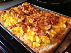 Breakfast Pizza!  Breakfast for Dinner or Dinner for Breakfast?  You decide...